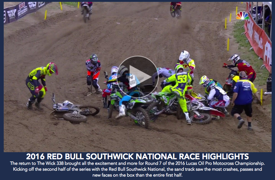 Red Bull Southwick National Highlights