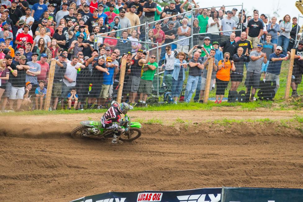 Tomac was dominant en route to his first win of 2016