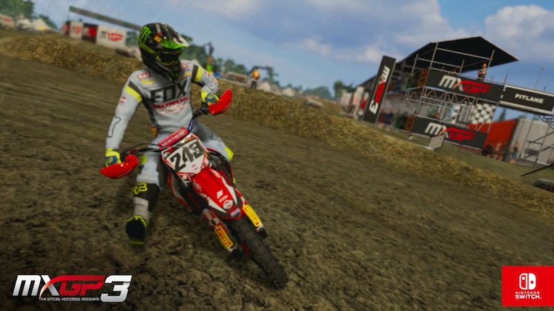 MXGP3 – THE OFFICIAL MOTOCROSS VIDEOGAME IS COMING TO NINTENDO SWITCH