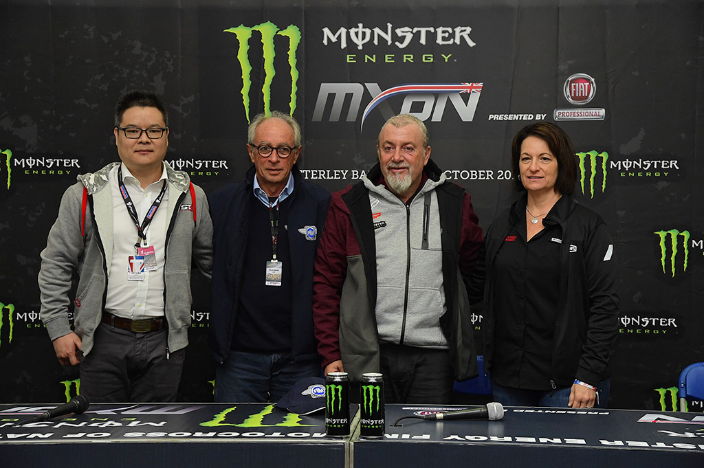 YOUTHSTREAM ANNOUNCES FUTURE MONSTER ENERGY MOTOCROSS OF NATIONS AND MXGP EVENTS