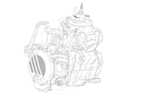 KTM announces two-stroke fuel injection models