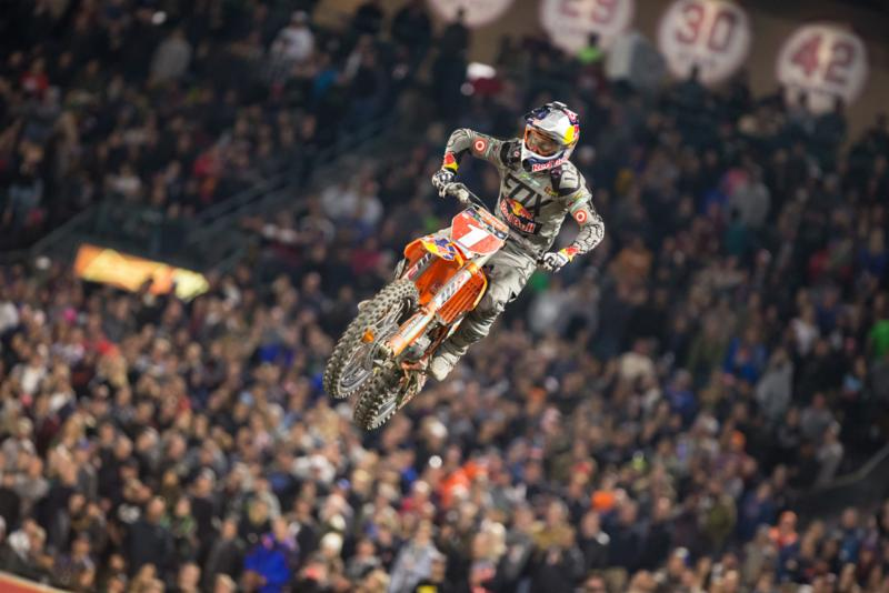 Dungey began his title defense with a runner-up effort