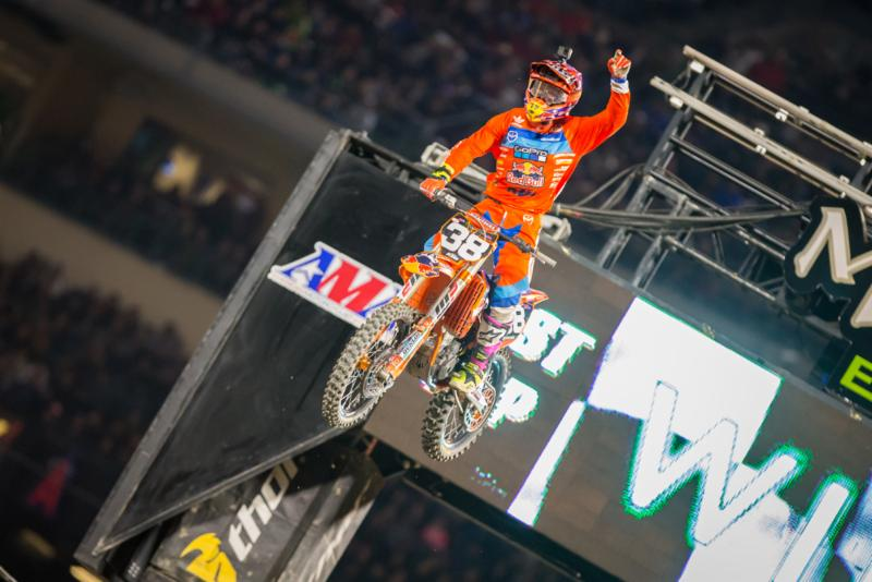McElrath became the 103rd different 250SX Class winner in history