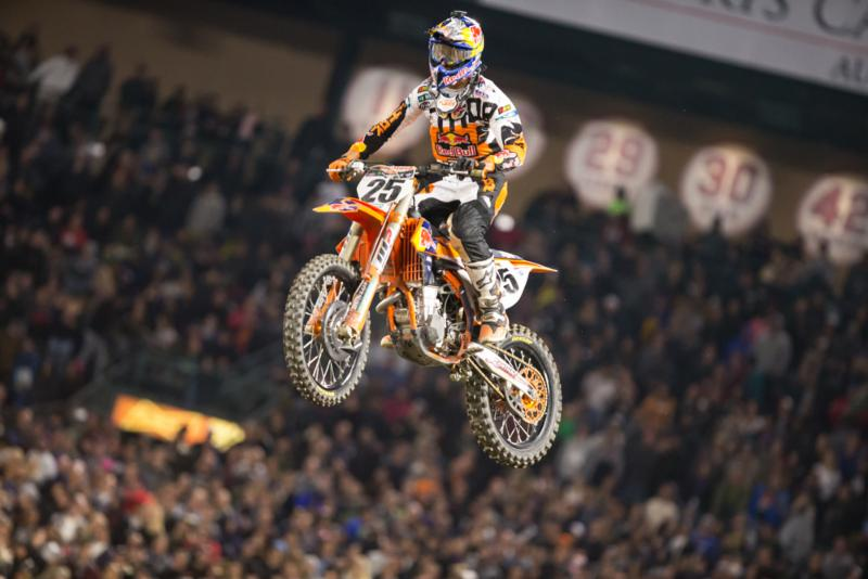 Musquin''s third-place finish gave KTM two of three spots on the podium