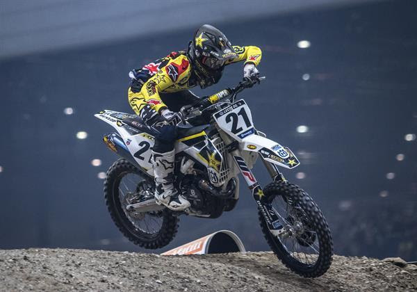 DOUBLE RUNNER-UP RESULT FOR JASON ANDERSON AT GENEVA SX