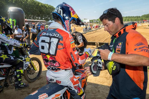 CAIROLI AND PRADO MAINTAIN KTM MXGP WINNING RUN IN ITALIAN SAND