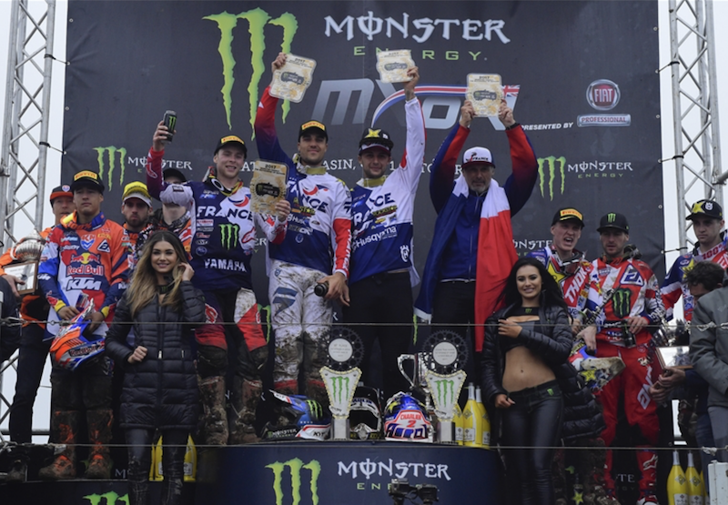 2018 Monster Energy FIM Motocross of Nations Entry Lists
