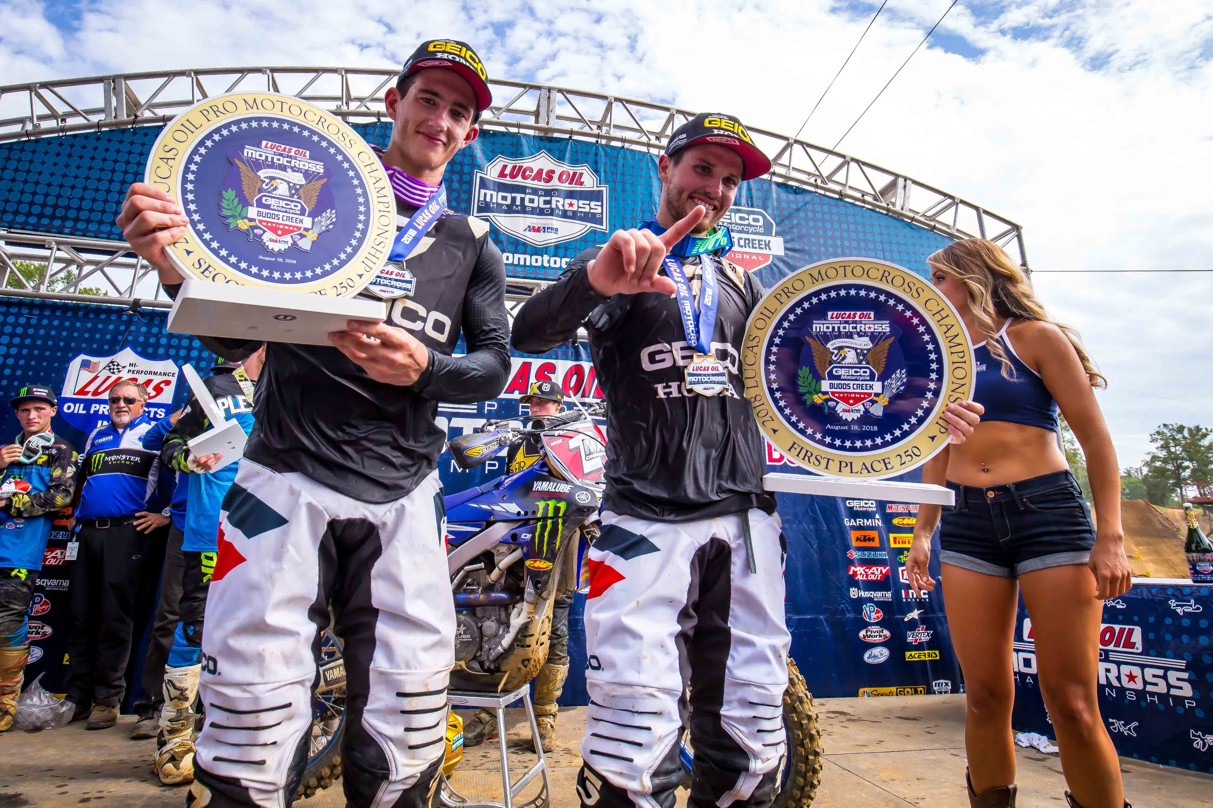GEICO FC Honda Budds Creek Podium