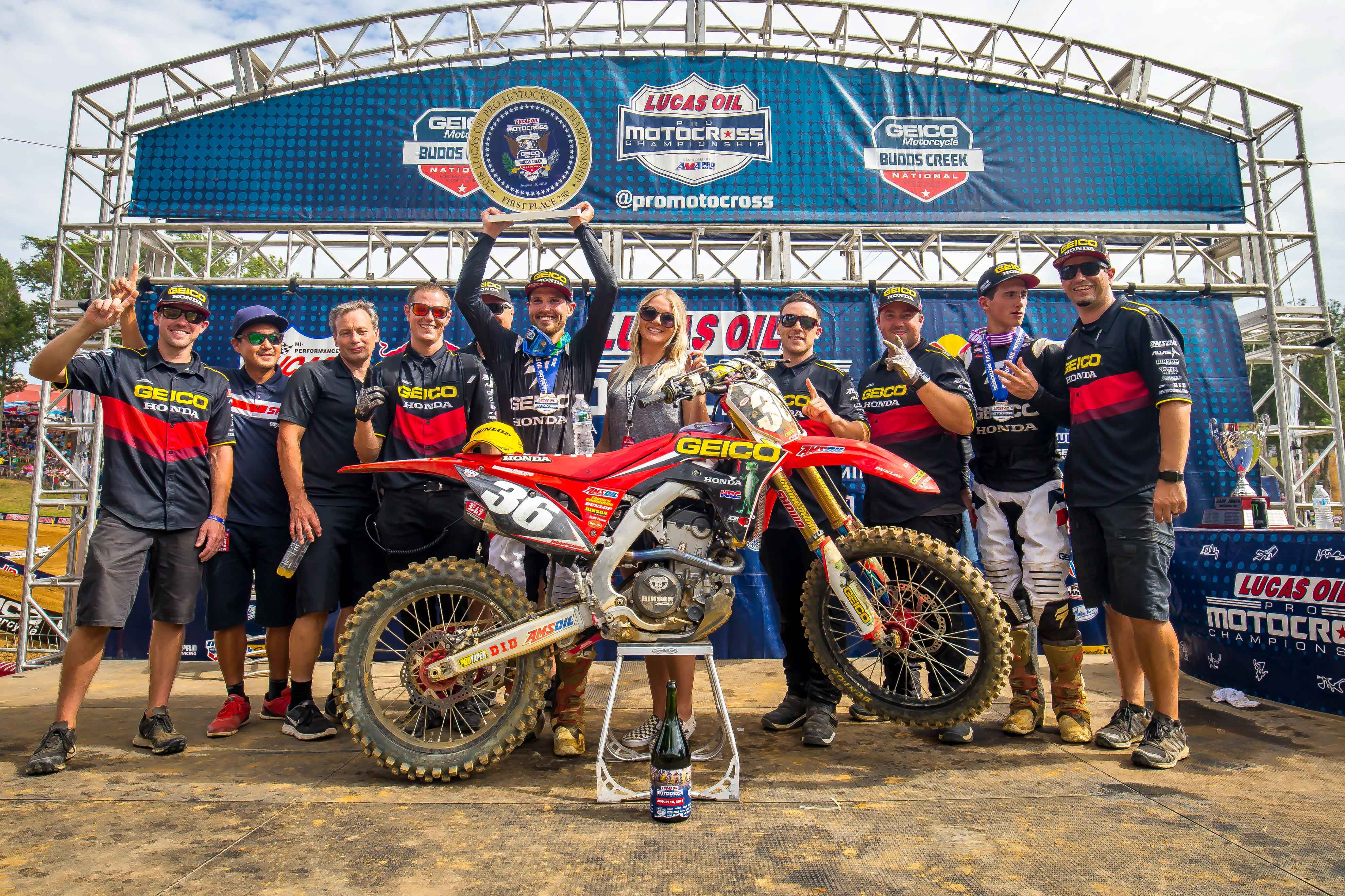 Hampshire Budds Creek Victory