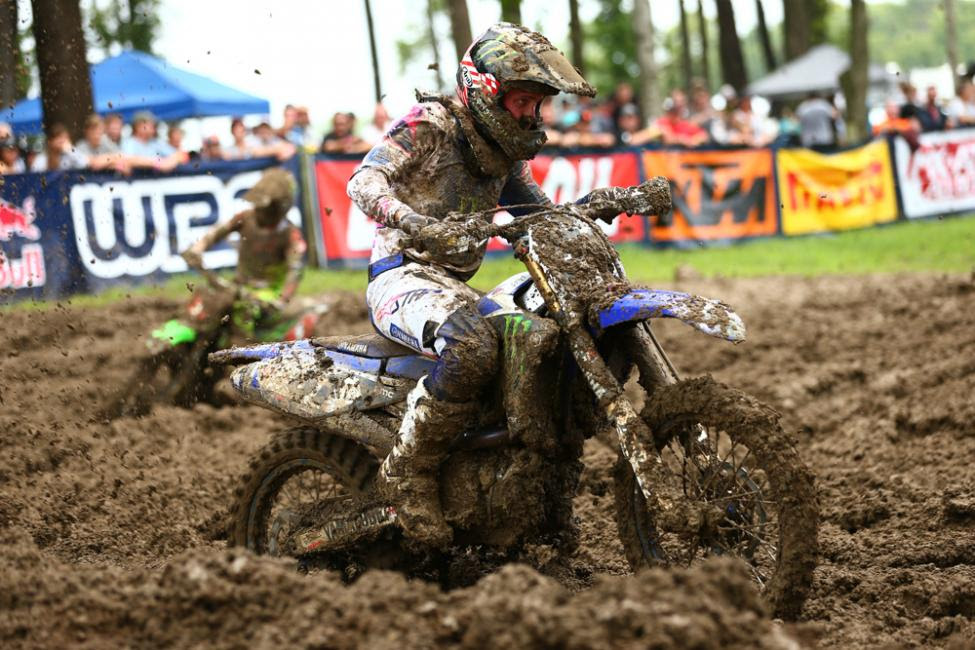 Barcia''s goggle-less first moto win vaulted him to his first overall victory since 2015.