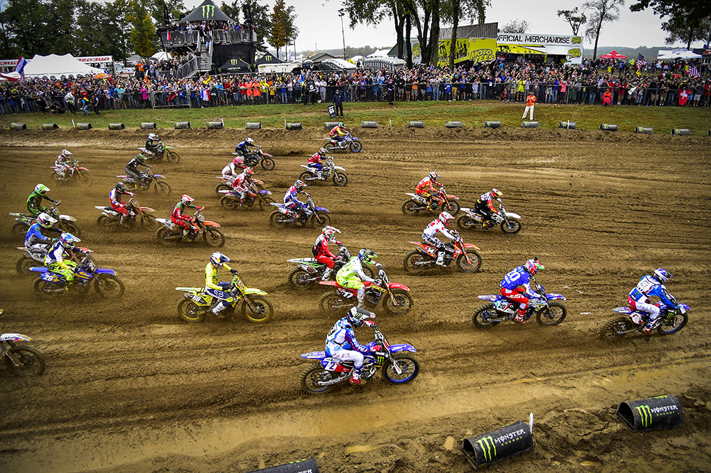 The second race out in front of the MXoN crowd was the 250's of MX2 Qualifying