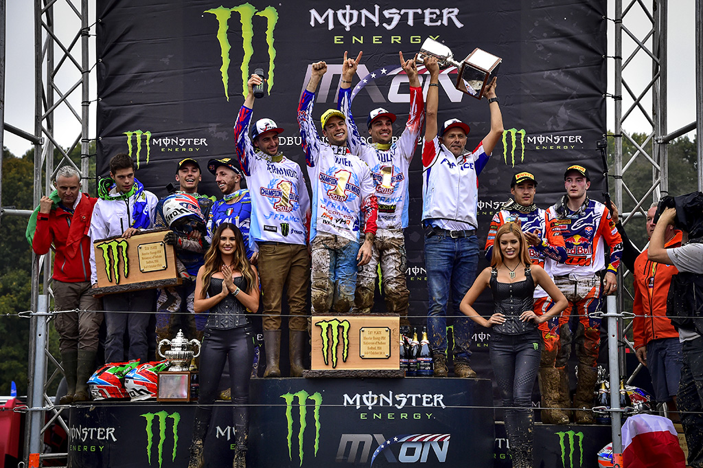 TEAM FRANCE FIGHT FOR 5TH CONSECUTIVE MONSTER ENERGY FIM MXON VICTORY