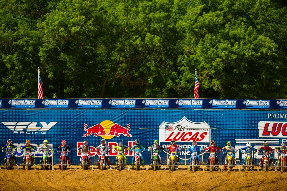 Long List of Returning Sponsors Gear Up to Provide Support For 2018 Lucas Oil Pro Motocross Championship