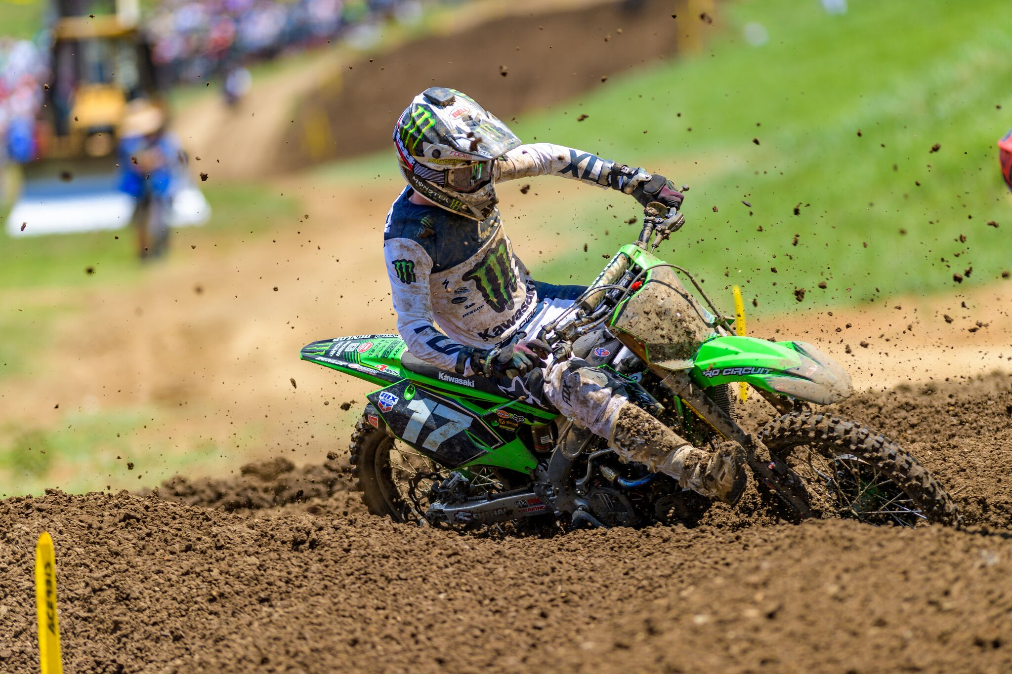 Monster Energy Pro Circuit Kawasaki Finish Inside The Top 10 in Tennessee