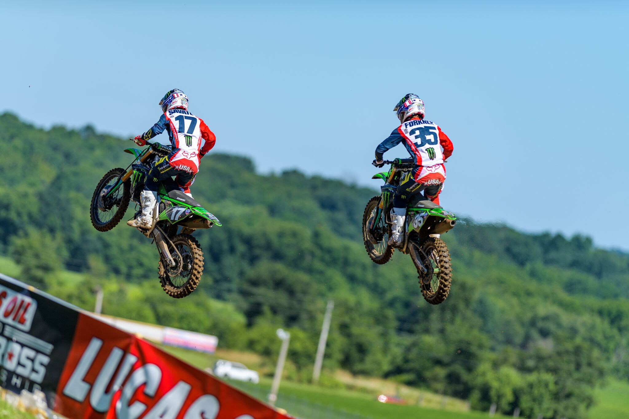 Austin Forkner and Joey Savatgy