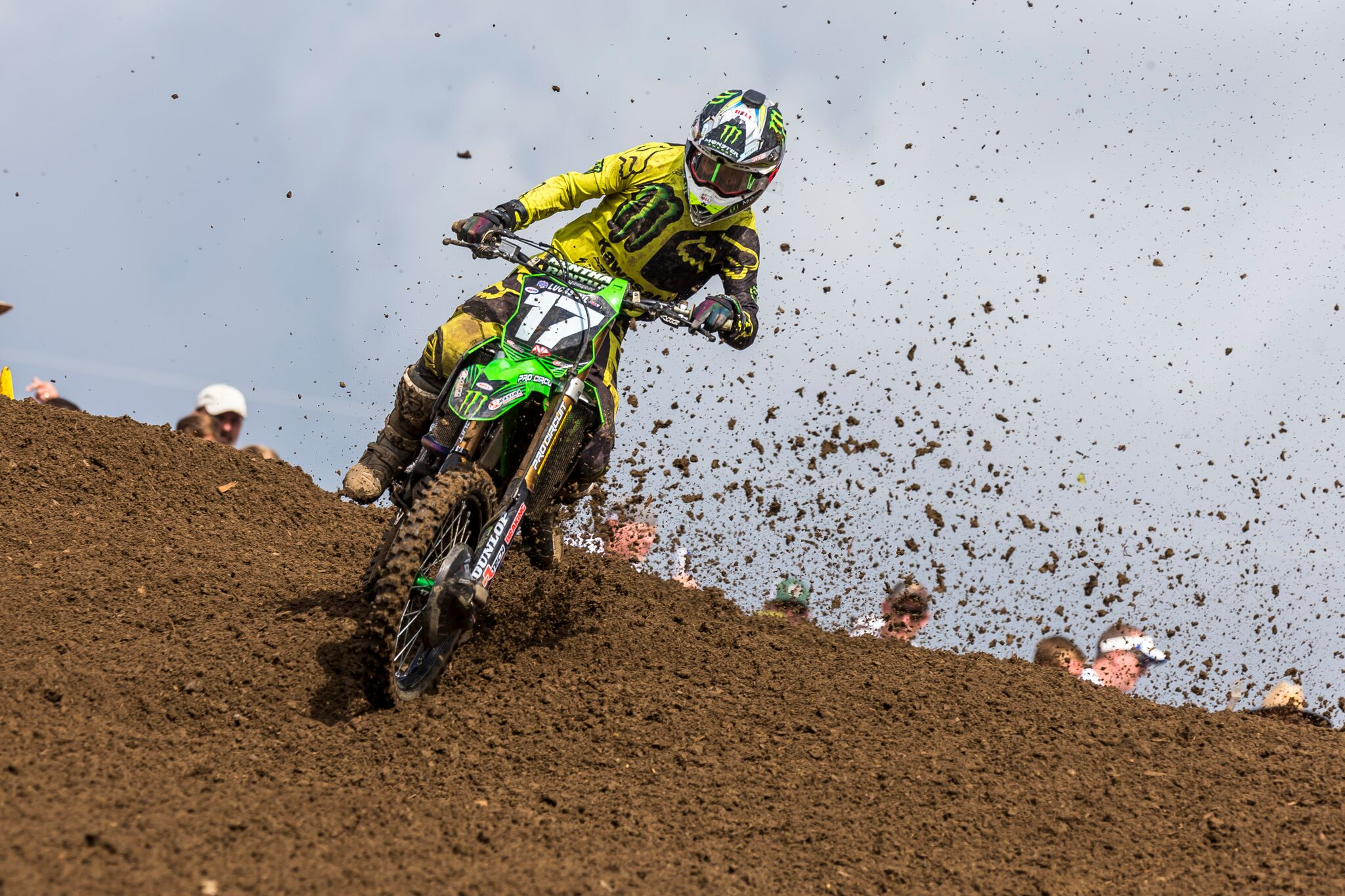 Monster Energy Pro Circuit Kawasaki Ready to Take on the Sand of Southwick
