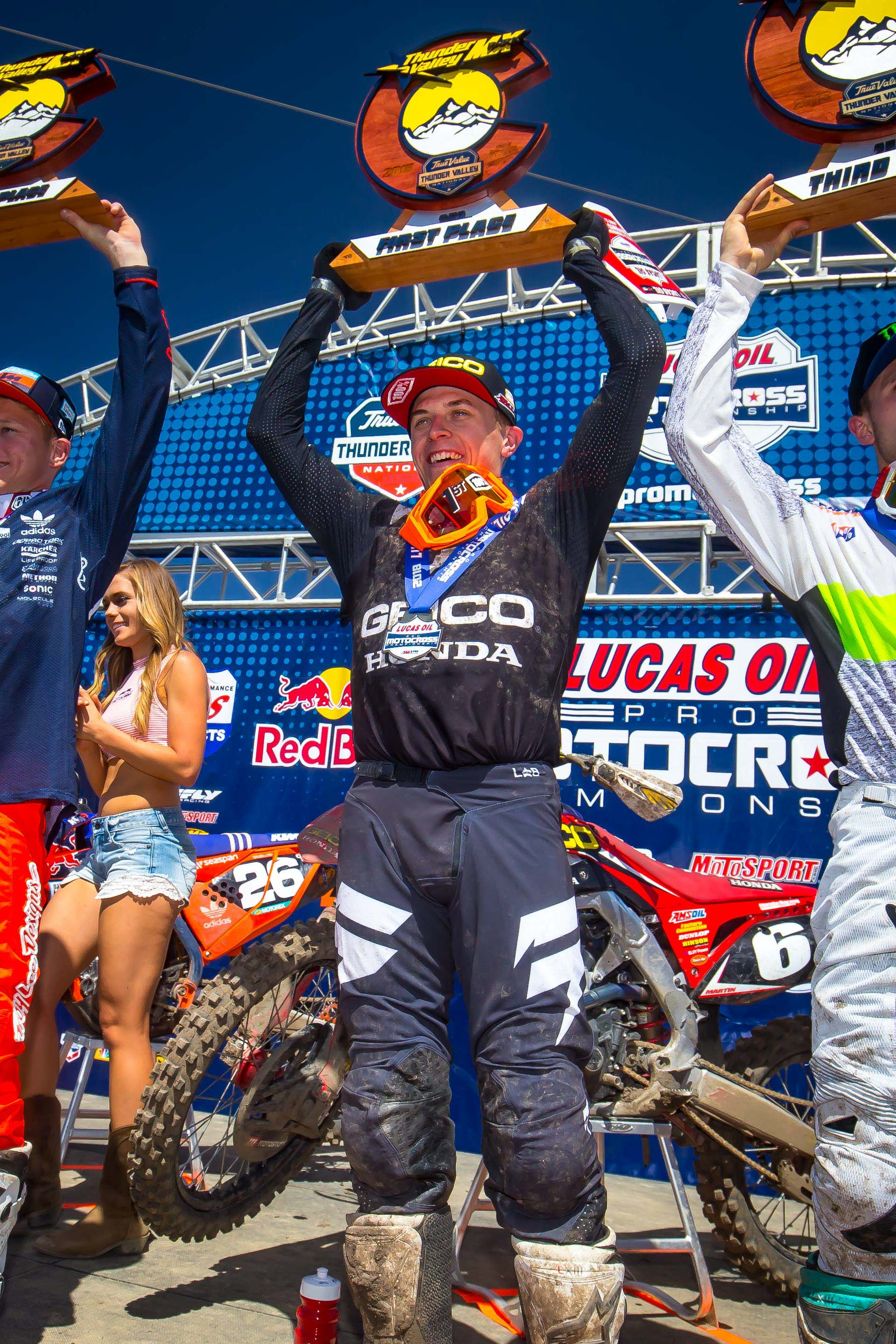 JEREMY MARTIN GRABS WIN, TAKES OVER POINTS LEAD AT THUNDER VALLEY
