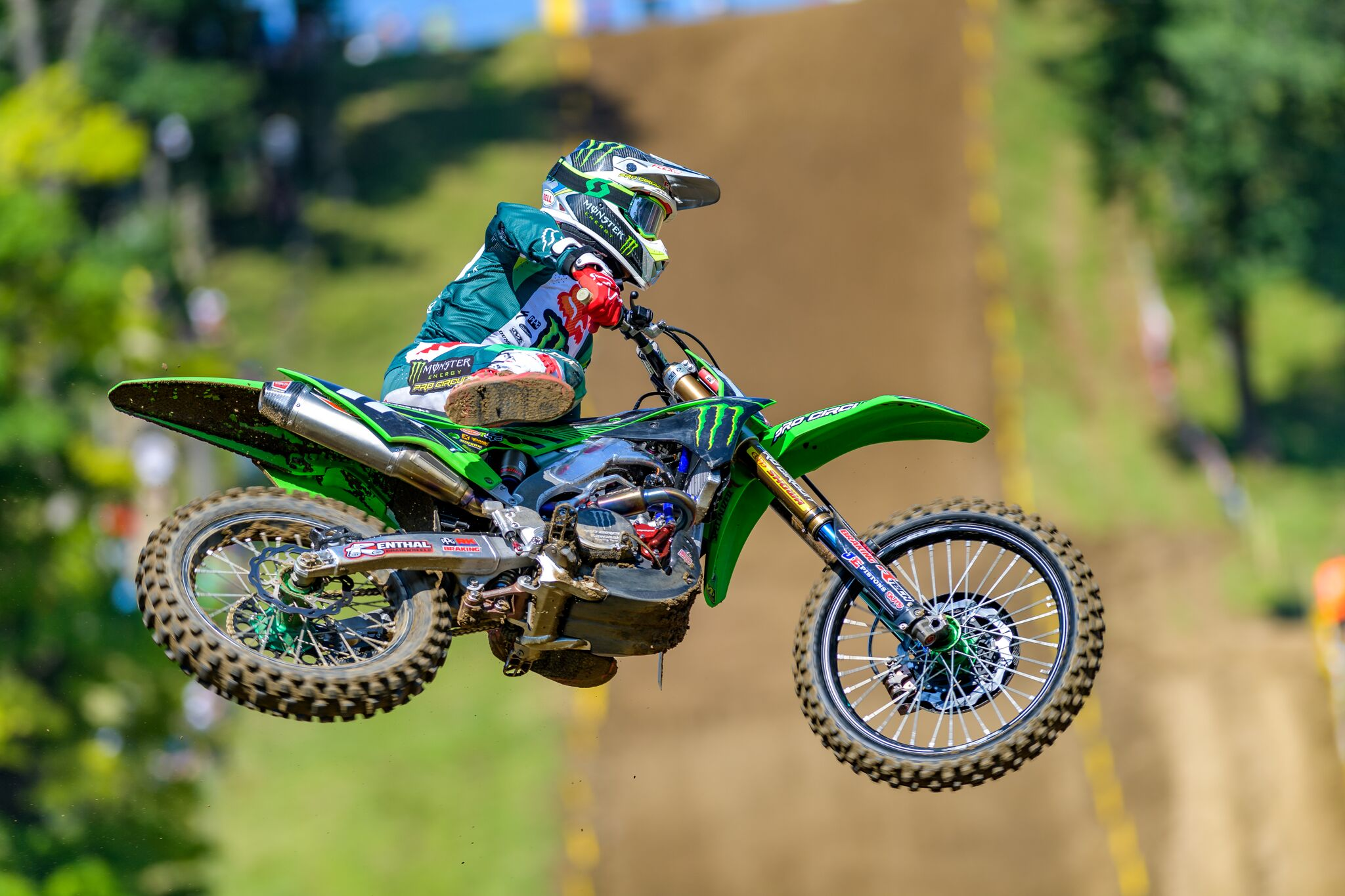 Monster Energy Pro Circuit Kawasaki Showcase Shining Moments En Route To Top-10 Finishes