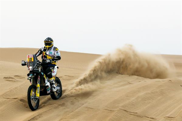 PABLO QUINTANILLA BACK INSIDE THE TOP SIX AFTER DAKAR''S STAGE SIX