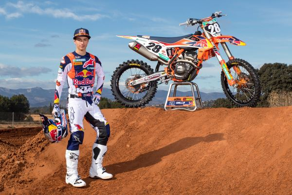 Tom Vialle KTM 250 SX-F 2019 MX2