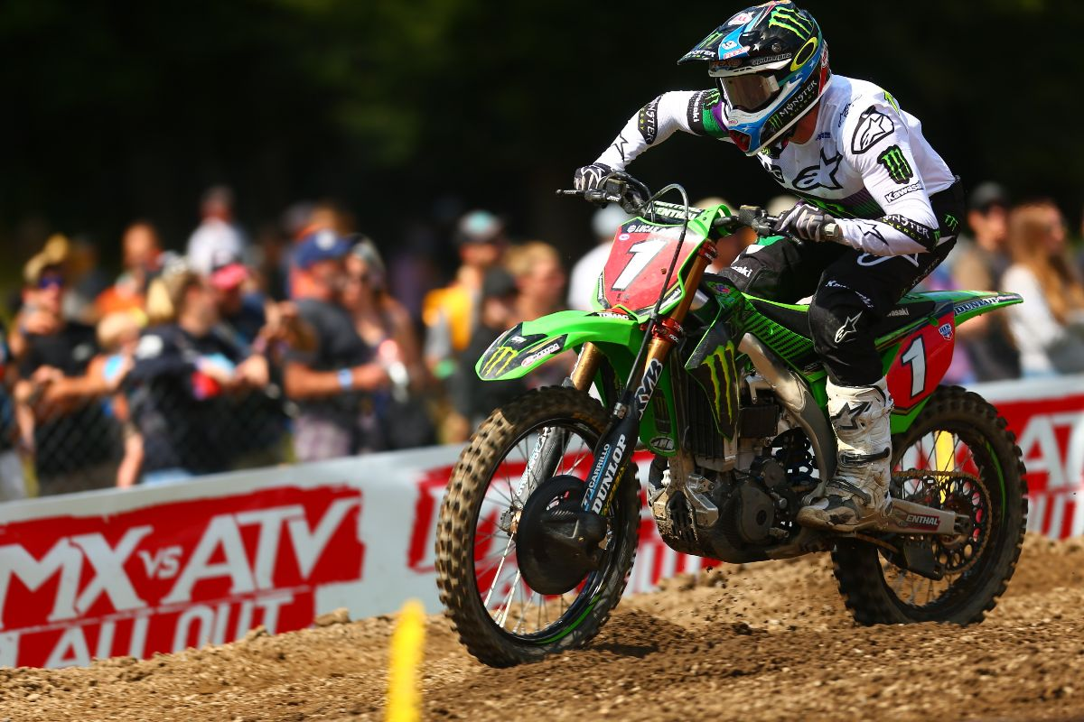 Tomac rebounded from a difficult first moto to finish fourth overall