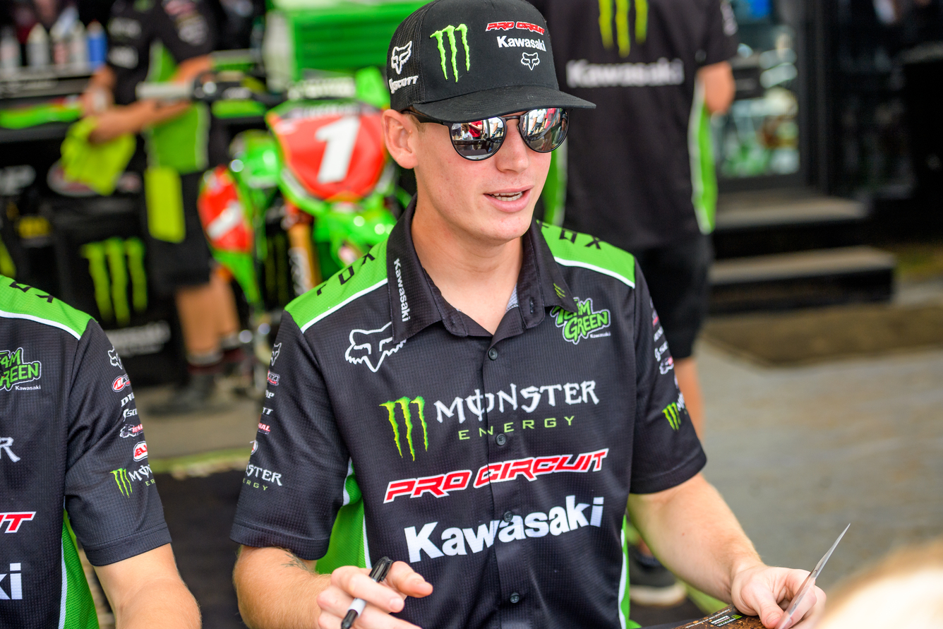 Final Stretch of Motocross Season Has Monster Energy Pro Circuit Kawasaki Keeping Eyes on the Prize