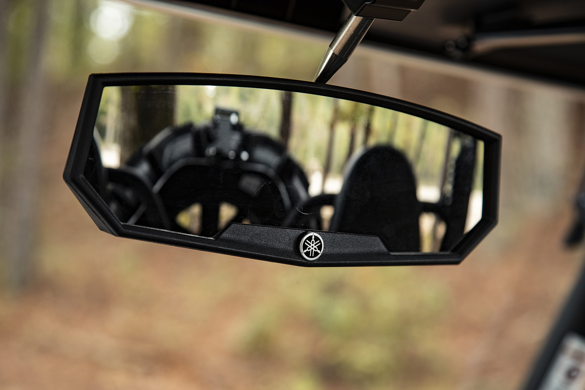 A new Yamaha center mirror and mounting bracket are available