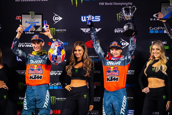WEBB BREAKS THROUGH FOR FIRST-CAREER 450SX WIN