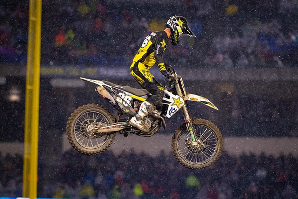 ROCKSTAR ENERGY HUSQVARNA FACTORY RACING''S MICHAEL MOSIMAN 12TH AT ANAHEIM OPENER