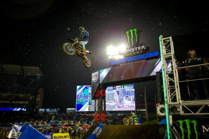 Monster Energy/Yamalube/Star/Yamaha Factory Racing''s Colt Nichols races to his first-ever 250SX Class Main Event win