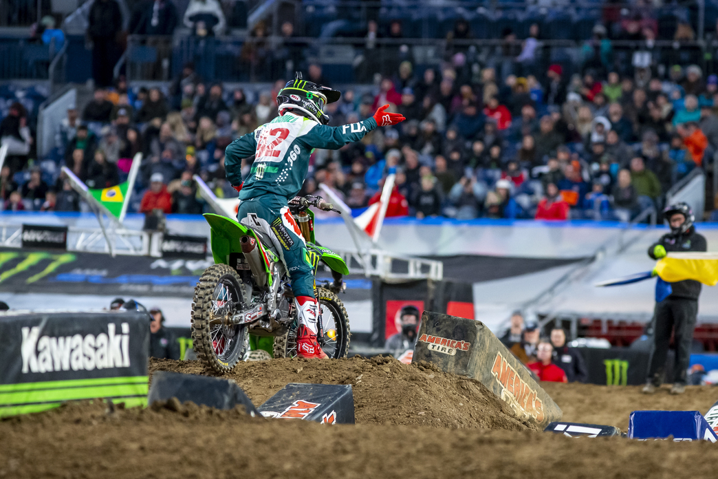 Monster Energy Pro Circuit Kawasaki Ready to Continue Las Vegas Domination