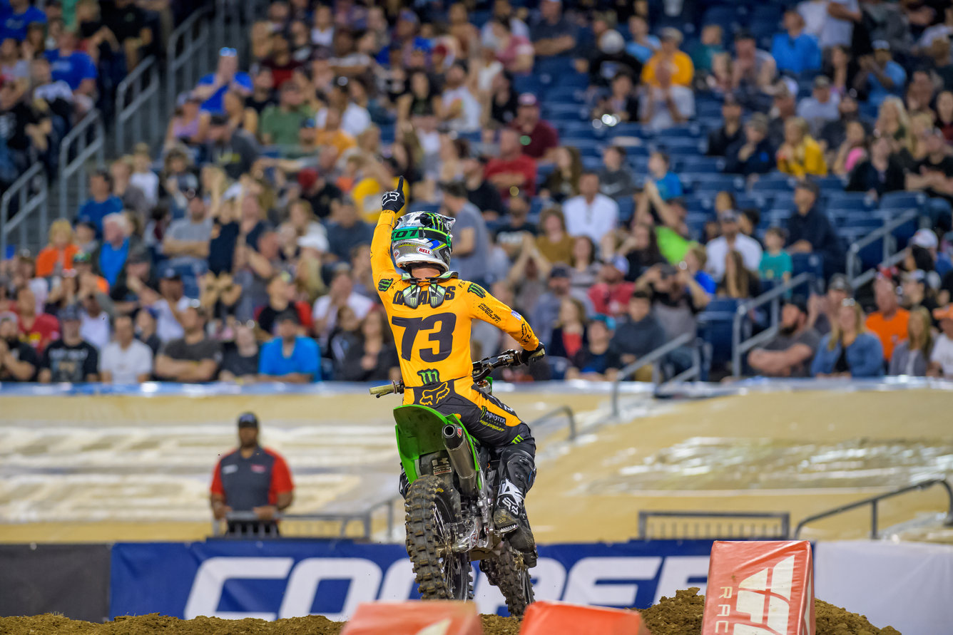 Monster Energy Pro Circuit Kawasaki's Forkner and Davalos Set to Line up for Penultimate Eastern Regional Round in New Jersey