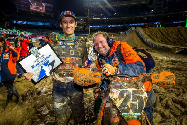MUSQUIN CLAIMS A PODIUM FINISH AT SAN DIEGO SX MUDDER