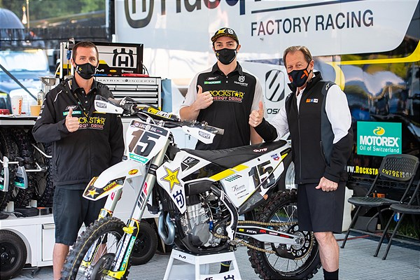 ROCKSTAR ENERGY HUSQVARNA FACTORY RACING TEAM EXTENDS CONTRACT WITH DEAN WILSON FOR 2021 SEASON