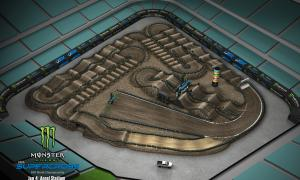 2020 Monster Energy Supercross Anaheim Track Map