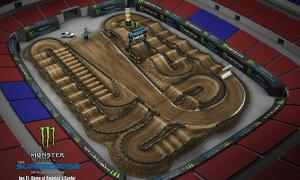 2020 Monster Energy Supercross St Louis Track Map