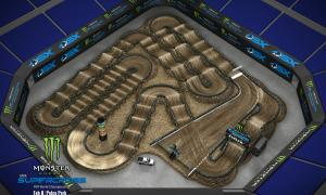 2020 Monster Energy Supercross San Diego Track Map