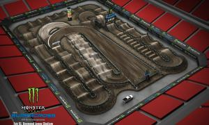 2020 Monster Energy Supercross Tampa Track Map
