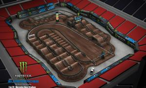 2020 Monster Energy Supercross Atlanta Track Map