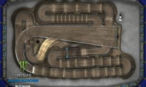2020 Monster Energy Supercross Detroit Track Map