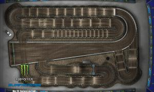 2020 Monster Energy Supercross Seattle Track Map