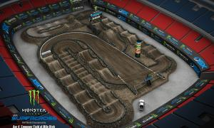2020 Monster Energy Supercross  Track Map