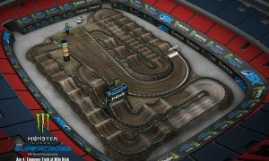 2020 Monster Energy Supercross Denver Track Map