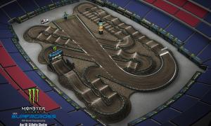 2020 Monster Energy Supercross Fox Borough Track Map