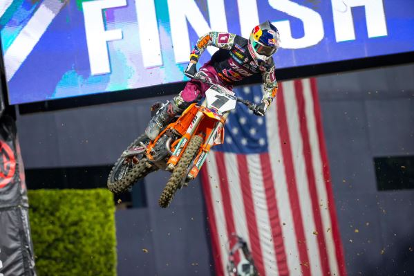 COOPER WEBB TAKES THE WIN AT SAN DIEGO SUPERCROSS