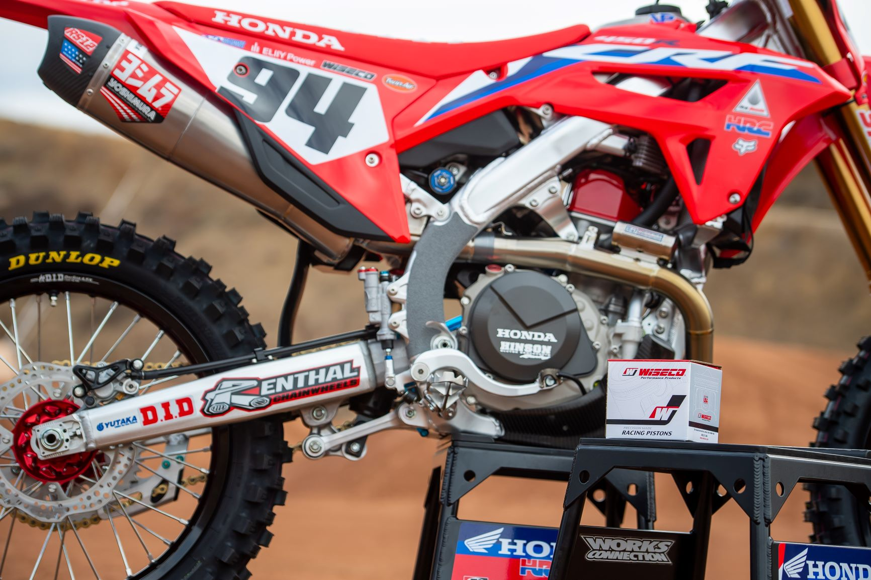 WISECO CONTINUES PARTNERSHIP WITH TEAM HONDA HRC FOR 2021