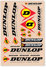 Dunlop Sticker Kit