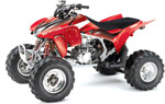 EVO 3 Series Graphic Kit Honda TRX450R red 04-07