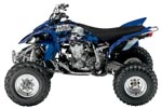 Metal Mulisha Series Graphic Kit Yamaha Raptor 700 06-07