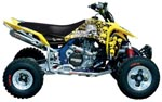 Metal Mulisha Series Graphic Kit Suzuki LT-R450 06-07